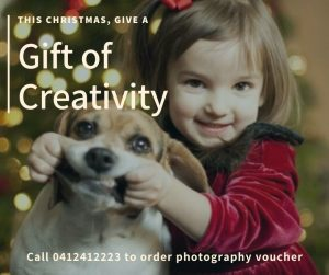 Photography Christmas Gift Voucher Canberra